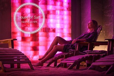 Saltterapi og Infrarød Sauna. Supplement til vægttab og  hjælp til at afgifte kroppen for affaldsstoffer