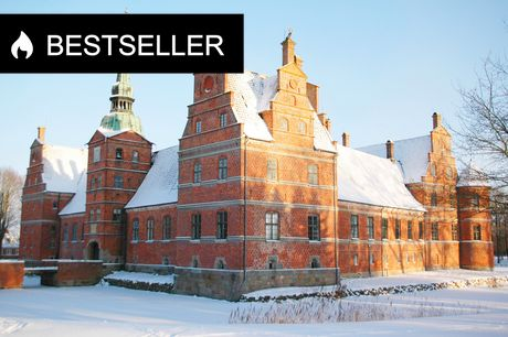 Julemarked på Rosenholm Slot. Kom til julemarked på Rosenholm Slot på Djursland den 6. eller 7. november 2021, hvor mere end 80 udstillere og hyggelige oplevelser venter. Du får også 1 glas gløgg med i prisen.