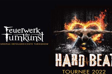 """Ticket für """"Feuerwerk der Turnkunst – HARD BEAT"""" am 23.01.2022 in der Mercedes-Benz Arena (bis zu 31% sparen)"""