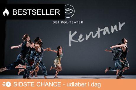 """2 x """"Kentaur"""" på Skuespilhusets Store Scene. EKSKLUSIVT på Downtown: Få 2 A-billetter for 1's pris!"""