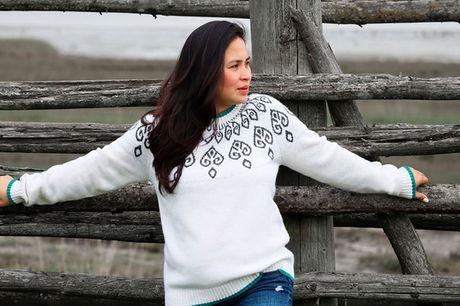 Lækker varm uldstrik. Klassiske varme striktrøjer i uld - flere designs! FRI FRAGT