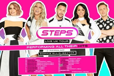 Steps (Live) plus Special Guest Sophie Ellis-Bextor - UK Arena Tour, 12 Nationwide Locations (Up to 56% Off)