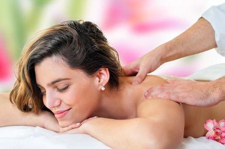 Alivie o stress e a tensão e as dores provenientes da má postura e contraturas musculares com uma massagem terapêutica por apenas 24,90€