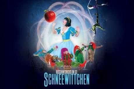 """Ticket für die Show """"Schneewittchen on Ice"""" am 19. Dezember im Theater am Potsdamer Platz (bis zu 34% sparen)"""