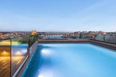 Malta Malta - Solana Hotel & Spa 4* a partire da € 46,00. Oasi di relax nel centro di Mellieha