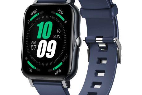 Smart Watch - S80. Stilfuld og avanceret tracker der følger med i din sundhed og sociale beskeder. Smart Watch S80 er et flot stykke værktøj, der bruges til at holde styr på dine personlige aktivitetsdata og meget andet. S80 er bare så stilren i et tidslø
