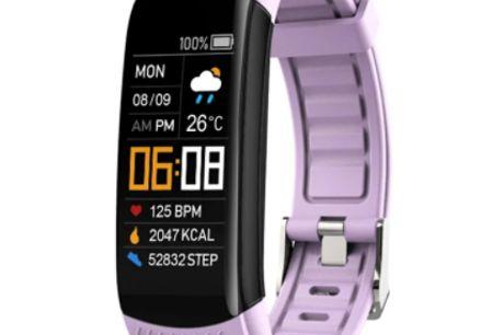 Fitness Tracker - C5 Plus. Avanceret tracker med mange praktiske funktioner. Fitness Tracker C5 Plus er et lille smart ur, der er spækket med fede funktioner Armbåndsur funktion 1. Understøtter Bluetooth 4.0, Android, IOS 2. Tryk på skærmen for at styre a