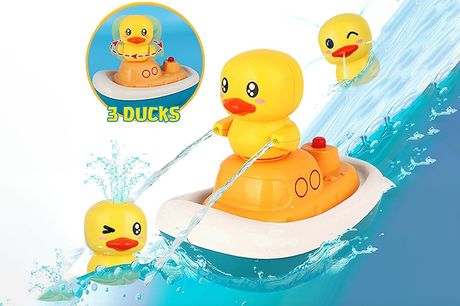 £12.99 instead of £49.99 for a sprinkler duck bath toy from Forefront – save 74%