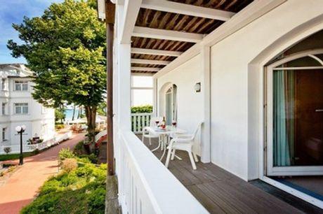 Rügen: Suite für Zwei inkl. Halbpension im Strandhaus Belvedere