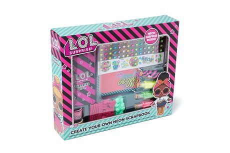 £8.99 instead of £19.99 for a kids' LOL Surprise neon scrapbook kit from VivoMounts - save 55%