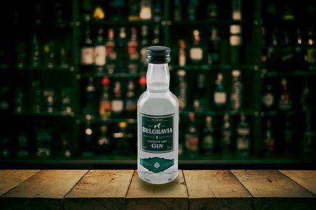 £14 for twelve miniature (5cl) bottles of Belgravia gin from Sadler's Peaky Blinder Distillery